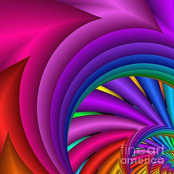 Fractalized Colors -3- by Issabild -