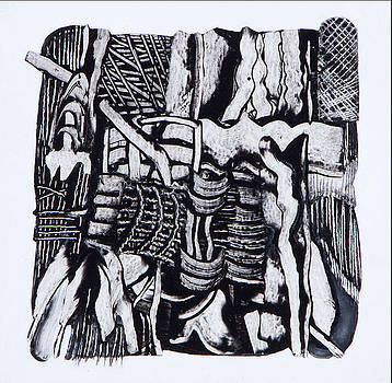 Fragments II by Sandra Salo Deutchman