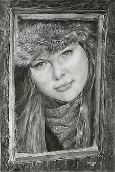 Framed - after Maureen Killaby by Mary Beglau Wykes