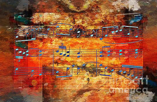 Framed Heterophony by Lon Chaffin