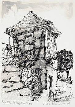 Martin Stankewitz - Framework hut in historic vineyard,Maulbronn Germany