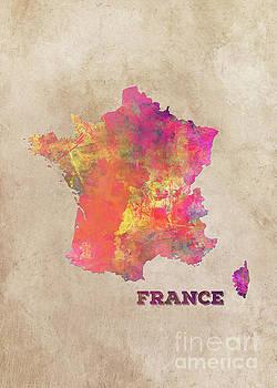 Justyna Jaszke JBJart - France map