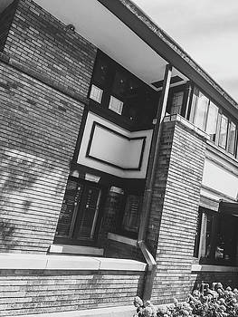 Frank Lloyd Wright House  by George Strohl