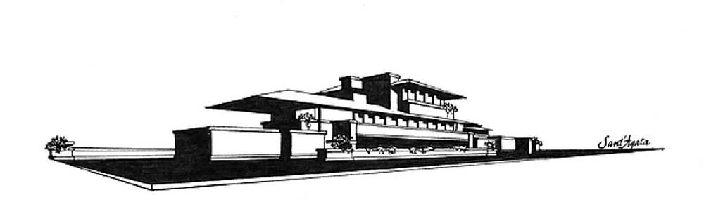Frank SantAgata - Frank Lloyd Wright