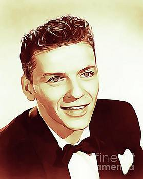 Frank Sinatra, Actor/Crooner by John Springfield