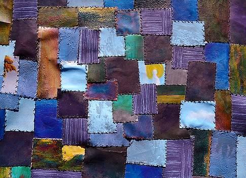 Franken-quilt by Lisa Kaye