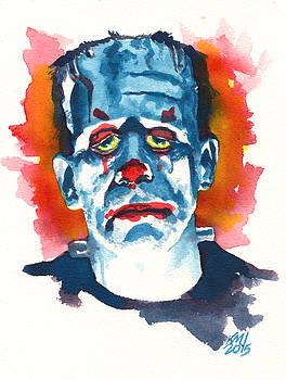 FrankenClown by Ken Meyer jr