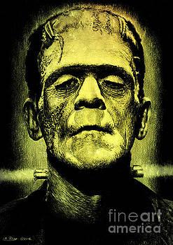 Frankenstein green glow version by Andrew Read