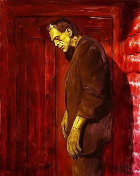 Frankenstein Monster by Mark Spears