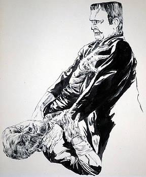 Bryan Bustard - Frankenstein vs. the Wolfman