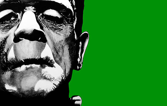 Frankenstein's Monster Signed Prints available at laartwork.com Coupon Code KODAK by Leon Jimenez