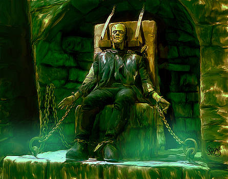 Frankenstien chained by Mark Spears