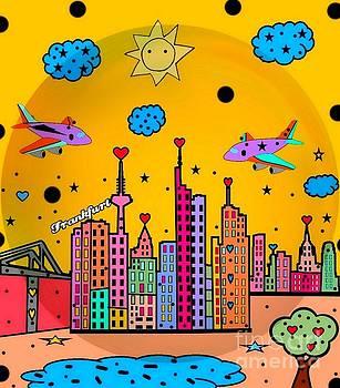 Frankfurt Popart by Nico Bielow by Nico Bielow