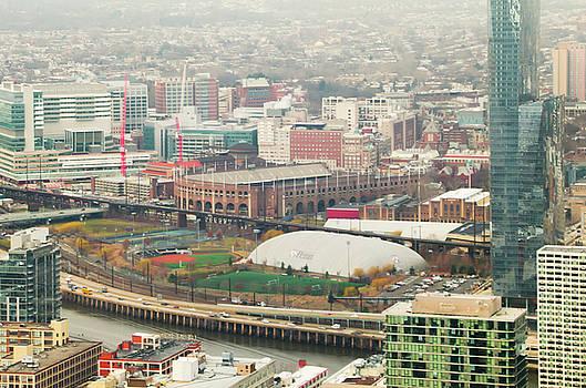 Franklin Field from Above - Philadelphia by Bill Cannon