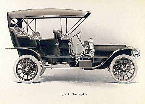 Franklin Type H Touring-car, 1908 by Vintage Printery