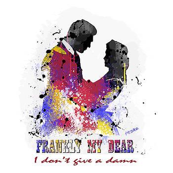 Frankly My Dear. ART PRINT by Peter Stevenson