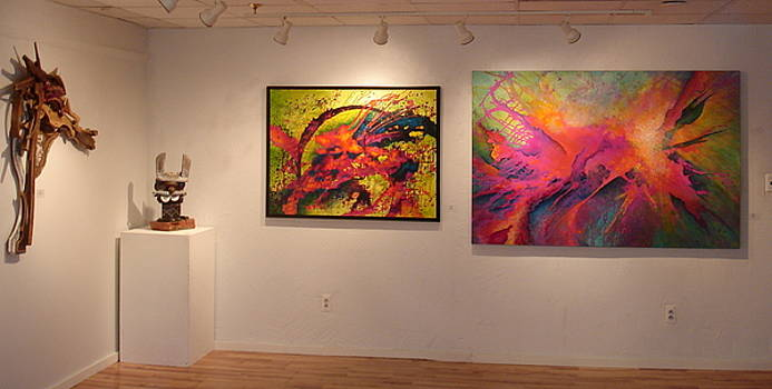 Fraser St. Gallery show 2015 by Susan Graham