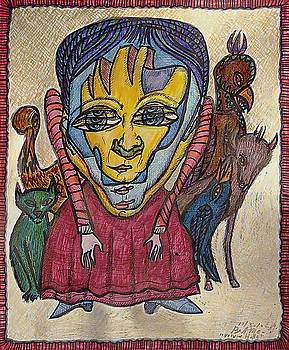 Frau Holle - after Grimm's Fairy Tales by Bert Menco