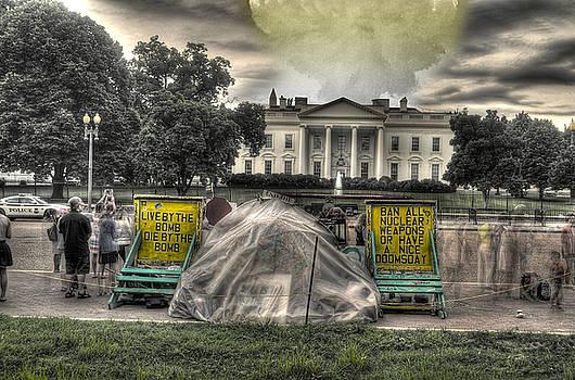 Freakin Hippie Protestors by Timothy Lowry