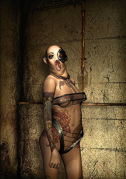 Freaks - The Second Girl in the Basment by Luca Oleastri