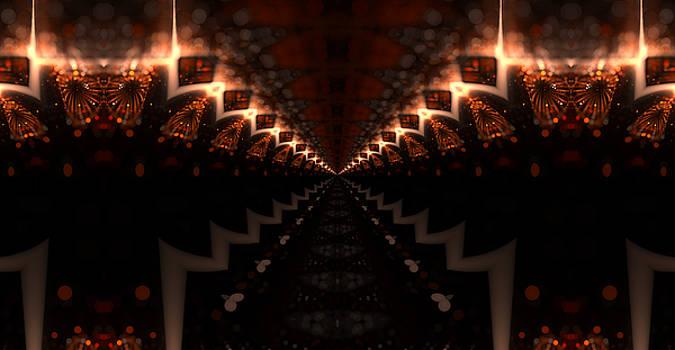 Freaky Hallway by Ricky Jarnagin