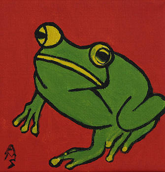 Fred the Frog by Annette M Stevenson