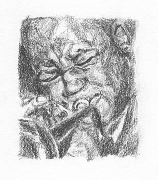 Freddie Hubbard by Maya Lewis