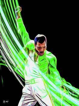 Freddie in Green by Daniel Janda