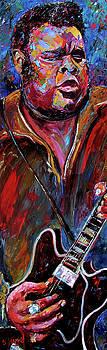 Freddie King by Debra Hurd