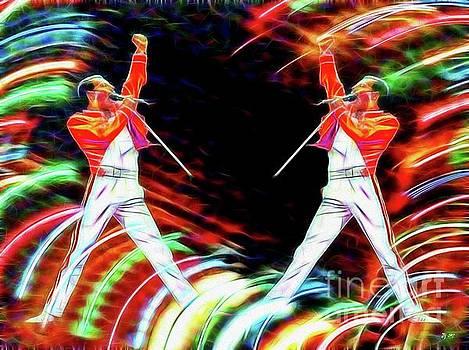 Freddie Mercury Mirroring by Daniel Janda