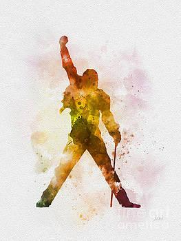 Freddie Mercury by Rebecca Jenkins