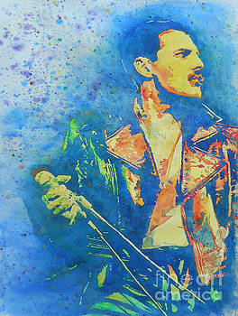 Freddie Mercury  by Robert Nipper