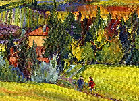 Freddie's Place  -- Tuscany by Karen Apostolico