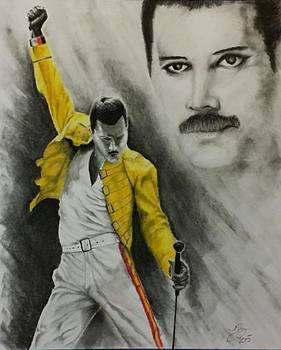 Freddy Mercury by Tim Brandt