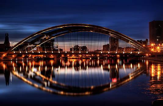 Freddy Sue Bridge Over The Genesee by Don Nieman