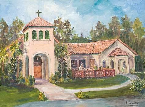 Frederica Presbyterian Church by Albert Fendig