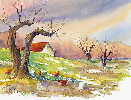 Peggy Wilson - Free Range Chickens