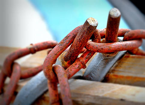 Free Yourself from Rusty Chains  by Dagmar Batyahav