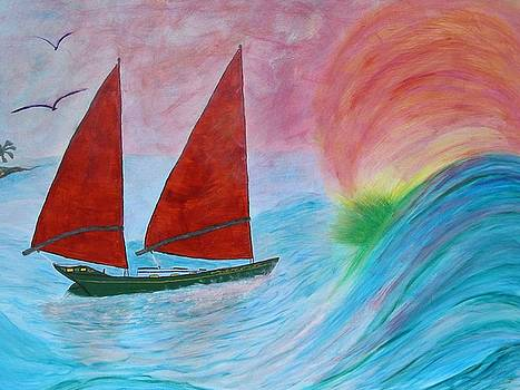 Freedom 40 Sail Away by Phoenix The Moody Artist