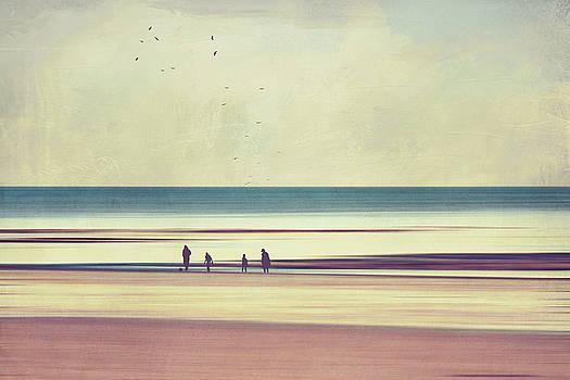 Freedom - Beach Walk by Dirk Wuestenhagen