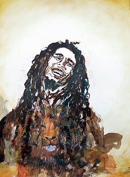 Freedom Bob Marley by Ashleigh Dyan Bayer