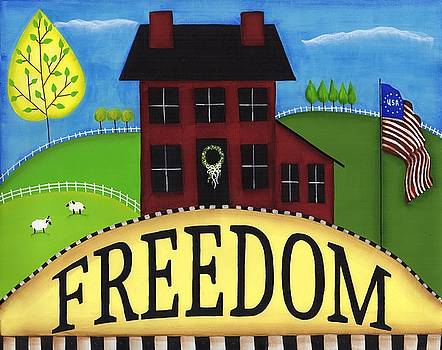 Freedom by Clover Moon Designs Peggy Sowers-Heckman