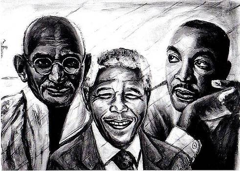 Freedom Hero print by Wale Adeoye