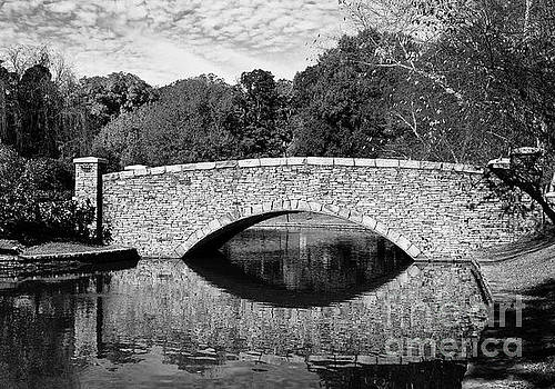 Jill Lang - Freedom Park Bridge in Black and White
