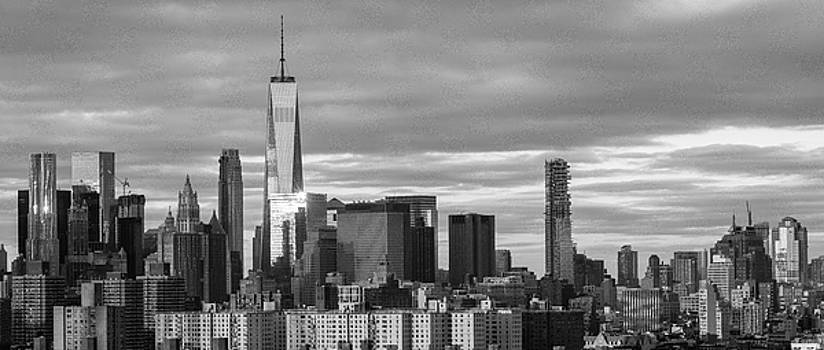 Freedom Tower Skyline by Yvonne Berger