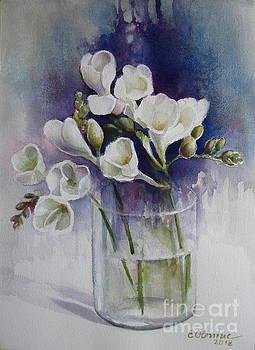 Freesias by Elena Oleniuc