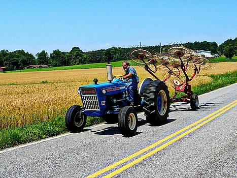Freewheelin' Amish Dude by Rollin Jewett