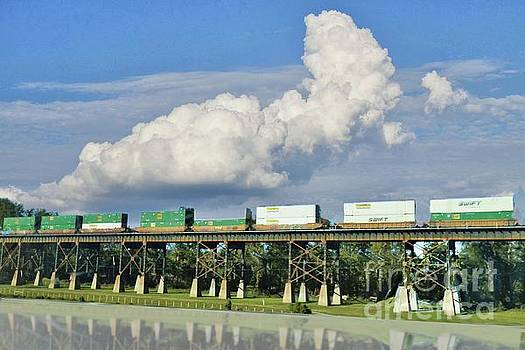 Freight Train Headed to Mississpppi by Janette Boyd