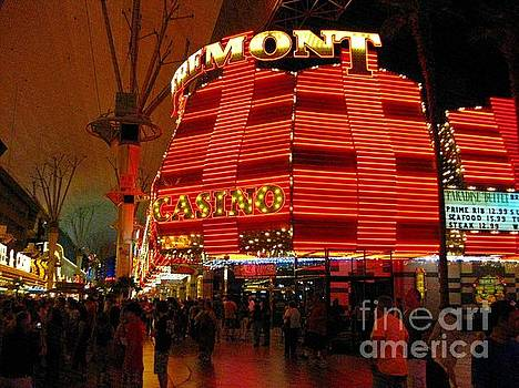 John Malone - Fremont Hotel at Night
