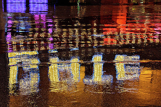 Fremont Neon Reflections by Seil Frary